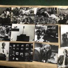 Cine: PÁNICO EN EL ESTADIO (CHARLTON HESTON, JOHN CASSAVETES 1976). LOTE 12 FOTOGRAFÍAS ORIGINALES B/N. . Lote 132878622