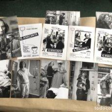 Cine: EL ANACORETA (FERNANDO FERNÁN GÓMEZ 1976). LOTE 13 FOTOGRAFÍAS EN B/N DE LA PELÍCULA.. Lote 132883902