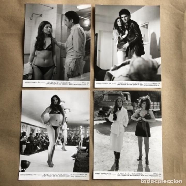 Cine: CALL GIRL: LA VIDA PRIVADA DE UNA SEÑORITA (TERESA RABAL, BARBARA REY 1976. LOTE 13 FOTOGRAFÍAS B/N. - Foto 2 - 132884818