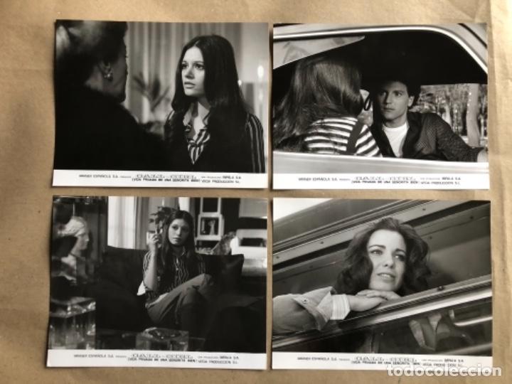Cine: CALL GIRL: LA VIDA PRIVADA DE UNA SEÑORITA (TERESA RABAL, BARBARA REY 1976. LOTE 13 FOTOGRAFÍAS B/N. - Foto 3 - 132884818