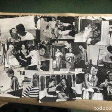 Cine: ADIÓS, EMMANUELLE (ALEXANDRA STUART 1977). LOTE DE 27 FOTOGRAFÍAS EN B/N DE LA PELÍCULA. 18X24. Lote 132894734