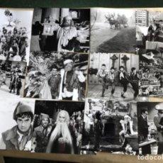 Cine: SANTA CLAUS, EL FILM (DUDLEY MOORE 1985). LOTE DE 13 FOTOGRAFÍAS EN B/N DE LA PELÍCULA. 20,5 X 25,5 . Lote 132906626
