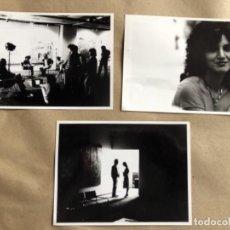 Cine: PARES O NONES (JOSÉ LUIS CUERDA 1982). LOTE DE 3 FOTOGRAFÍAS EN B/N DE LA PELÍCULA. SÍLVIA MUNT, ... Lote 132908530