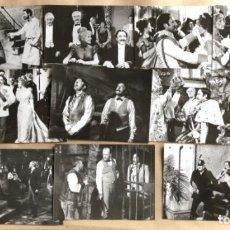 Cine: EL ESTRAFALARIO PRISIONERO DE ZENDA (PETER SELLERS 1981). LOTE DE 12 FOTOGRAFÍAS EN B/N DE PELÍCULA.. Lote 132913882