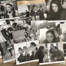 Cine: SEÑORITAS DE UNIFORME (MARÍA JOSÉ CANTUDO 1976). LOTE DE 19 FOTOGRAFÍAS PROMOCIONALES DE LA PELÍCULA. Lote 132916858