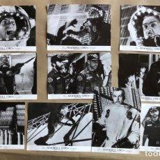 Cine: ATMÓSFERA CERO (OUTLAND) (SEAN CONNERY 1981). LOTE DE 10 FOTOGRAFÍAS PROMOCIONALES DE LA PELÍCULA.. Lote 132921938