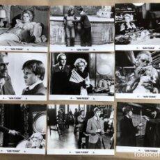 Cine: ALMA PERDIDA (CATHERINE DENEUVE, VITTORIO GASSMAN 1977). LOTE 9 FOTOGRAFÍAS PROMOCIONALES PELÍCULA.. Lote 132923914