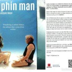 Cine: DOLPHIN MAN. TAMAÑO 15 X 21 CMS.. Lote 135320926