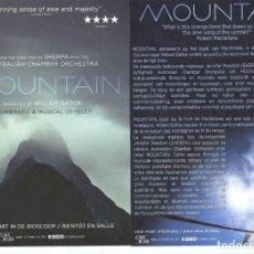Cine: MOUNTAIN. TAMAÑO 15 X 21 CMS.. Lote 133301722