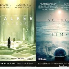 Cine: VOYAGE OF TIME, . TAMAÑO 15 X 21 CMS.. Lote 133311274