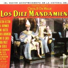 Cine: FOTOCROMO ORIGINAL (LOS DIEZ MANDAMIENTOS). Lote 134168326