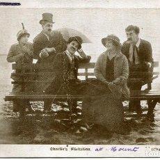Cine: CHARLES CHAPLIN -ORIGINAL 1915. Lote 134315814
