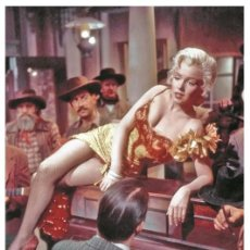 Cine: MARILYN MONROE - FILM STAR PIN UP PHOTO POSTCARD - C33-12 SWIFTSURE POSTCARD. Lote 134424794