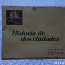Cine: COLECCIÓN COMPLETA 21 FOTOGRAFÍAS HISTORIA DE DOS CIUDADES - 1935 - METRO GOLDWYN MAYER - ORIGINAL. Lote 134984138