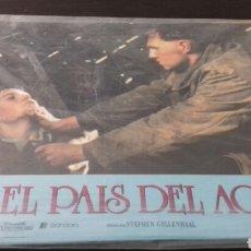 Cine: 12 FOTOCROMOS ORIGINALES - EL PAIS DEL AGUA - JEREMY IRONS - JUEGO COMPLETO. Lote 135014138