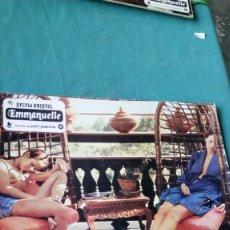 Cine: CARTELA DE EMMANUELLE / SYLVIA KRISTEL 34X24. Lote 135241958