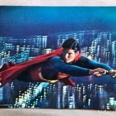 Cine: SUPERMAN. PRECIOSO FOTOCROMO ORIGINAL DC CÓMICS INC 1978. 28 X 35,5 CMS.. Lote 135330562