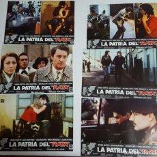 Cine: LA PATRIA DEL RATA, LOTE DE 12 FOTOCROMOS ORIGINALES. Lote 135492458