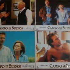 Cine: CAMPO DE SUEÑOS. CARTELES PUBLICITARIOS 34X24. 10 UNIDADES. Lote 135649967