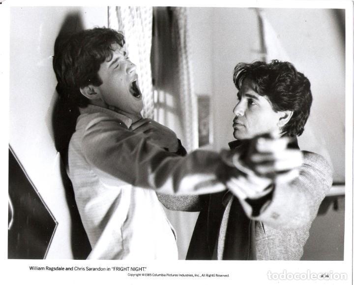 FOTO ORIGINAL BLANCO Y NEGRO (18X25) (CHRIS SARANDON) (Cine - Fotos y Postales de Actores y Actrices)