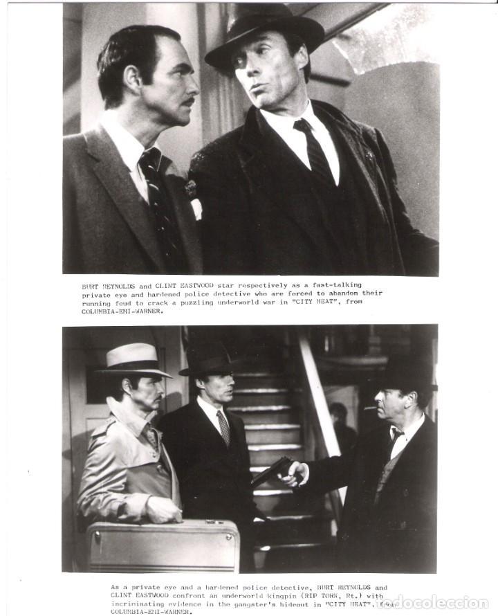 FOTO ORIGINAL BLANCO Y NEGRO (18X25) CLINT EASTWOOD (Cine - Fotos y Postales de Actores y Actrices)