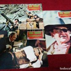 Cine: EL RIFLE Y LA BIBLIA. CARTELES PUBLICITARIOS 34X24. 9 UNIDADES.. Lote 135866954