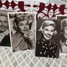 Cine: 4 FOTOS ANTIGUAS DORIS DAY WARNER BROS. FOTO POSTAL PICTUREGOER. Lote 136022526