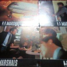 Cine: U.S.MARSHALS. CARTEL PUBLICITARIO 34X24CM. 12 UNIDADES. Lote 136049770