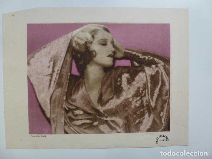 Usado, FILMS SELECTOS. SUPLEMENTO ARTÍSTICO. JEANETTE MAC DONALD (27,5 X 20,5 CM) segunda mano