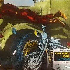 Cine: LA CHICA DE LA MOTOCICLETA FOTOCROMO ORIGINAL ESTRENO (CARTON). Lote 136445702