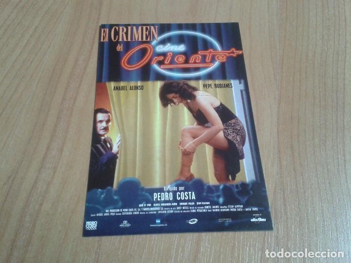 Postal Cine El Crimen Del Cine Oriente Pe Comprar Fotos