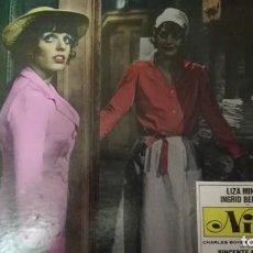 Cine: (NINA) FOTOCROMO ORIGINAL DEL ESTRENO DE LA PELÍCULA (CARTÓN) LIZA MINELLI. Lote 136821046