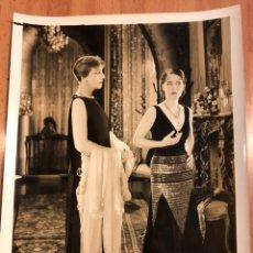 Cine: FOTO ORIGINAL MGM NORMA SHEARER SU SECRETARIA. Lote 136826749