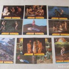 Cine: ANIMALES RACIONALES / ELIGIO HERRERO / JUEGO COMPLETO 9 FOTOCROMOS. Lote 137149622