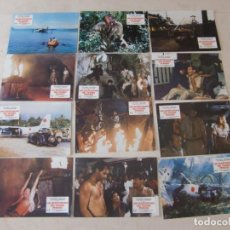 Cine: LOS AVENTUREROS DEL TESORO PERDIDO / ANTONIO MARGHERITI (A M DAWSON) / JUEGO COMPLETO 12 FOTOCROMOS. Lote 137150230
