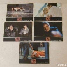 Cine: ANGUSTIA / BIGAS LUNA / JUEGO 5 FOTOCROMOS. Lote 137150670