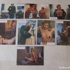 Cine: LAS AVENTURAS EROTICAS DEL SOLDADO NEUMAN / JÜRGEN ENZ / PETER HINRICHSEN / JUEGO 8 FOTOCROMOS. Lote 137150966