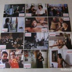 Cine: ASESINATO EN EL COMITE CENTRAL / VICENTE ARANDA / VICTORIA ABRIL / JUEGO COMPLETO 12 FOTOCROMOS. Lote 137153414