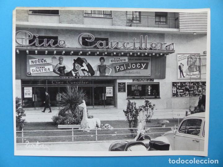 Cine: 4 FOTOS DE CINES ESTRENANDO LA PELICULA PAL JOEY, FRANK SINATRA, RITA HAYWORTH, KIM NOVAK -AÑOS 1960 - Foto 6 - 137395318