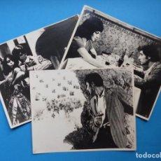 Cine: 3 FOTOS DE CINE - CON EL VIENTO SOLANO, ANTONIO GADES, MARIA JOSE ALFONSO - AÑOS 1960. Lote 137398550