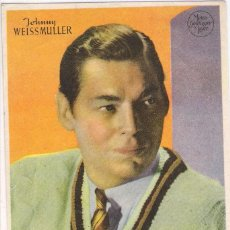 Cine: JOHNNY WEISSMULLER - METRO GOLDWYN MAYER- SIN PUBLICIDAD. Lote 137980902