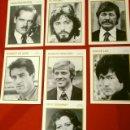Cine: LOTE 7 FOTO FICHAS ACTORES ACTRICES DE CINE AÑOS 70 AL DORSO BIOGRAFIA - TAMAÑO: 13 X 18 CM - KOBAL. Lote 138021398