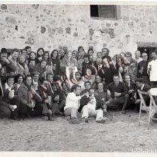 Cine: FOTO ORIGINAL DEL EQUIPO (ACTORES Y TECNICOS) DE LA PELICULA ''LEONOR'' DE 1975. Lote 136734022