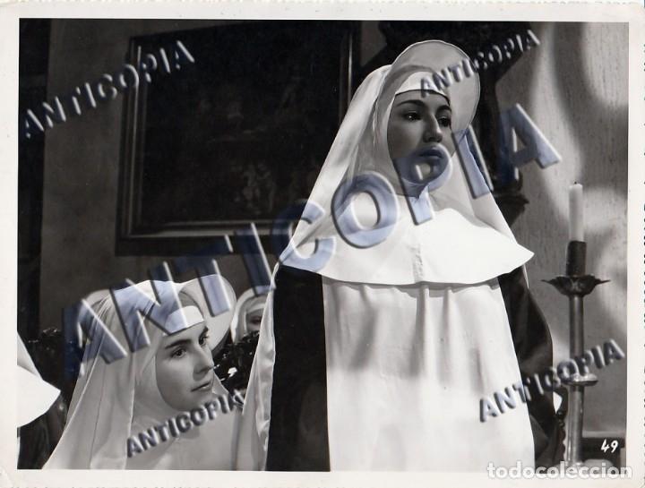 Cine: 10 FOTOGRAFIAS DE DISTINTAS PELICULAS DEL CINE ESPAÑOL AÑOS 50/60/70 (NUM. 6) - Foto 8 - 137466886