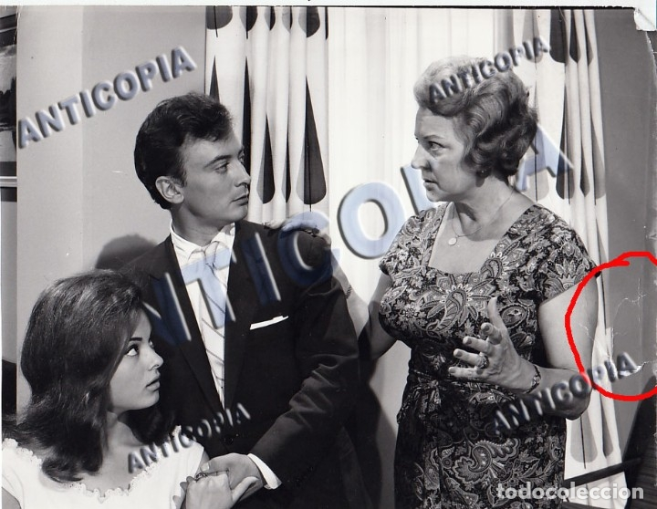 Cine: 10 FOTOGRAFIAS DE DISTINTAS PELICULAS DEL CINE ESPAÑOL AÑOS 50/60/70 (NUM. 3) - Foto 11 - 137465910