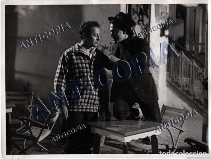 Cine: 10 FOTOGRAFIAS DE DISTINTAS PELICULAS DEL CINE ESPAÑOL AÑOS 50/60/70 (NUM. 1) - Foto 5 - 137458034