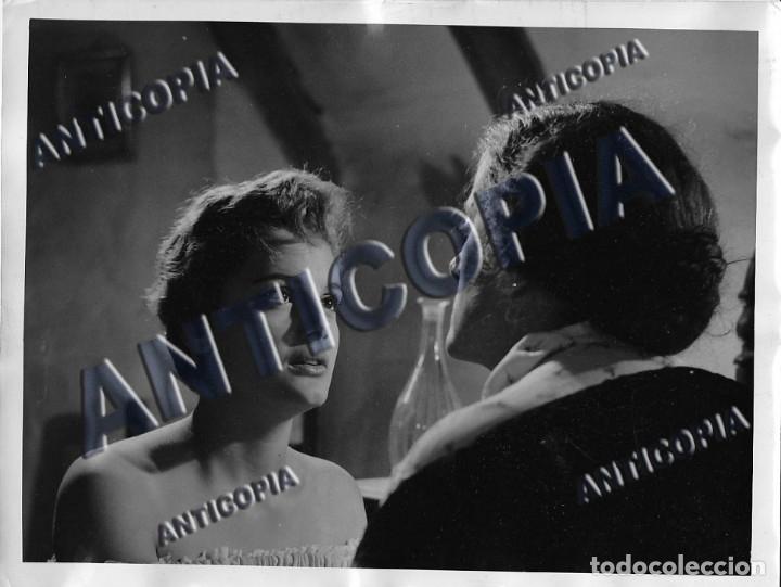 Cine: 15 FOTOGRAFIAS ORIGINALES DEL RODAJE DE LA PELICULA NOSOTROS DOS CON ROSSANA PODESTA - Foto 5 - 136638958