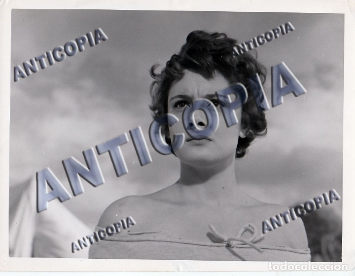 Cine: 15 FOTOGRAFIAS ORIGINALES DEL RODAJE DE LA PELICULA NOSOTROS DOS CON ROSSANA PODESTA - Foto 12 - 136638958