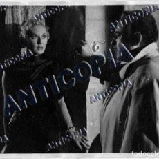 Cine: 5 FOTOGRAFIAS DEL RODAJE DE ''EL CERCO DEL DIABLO'' 1952. Lote 136409446