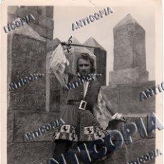 Cine: 50 FOTOGRAFIAS ORIGINALES DEL RODAJE DE LA PELICULA ''SAN IGNACIO DE LOYOLA'' DE 1949. Lote 136506302